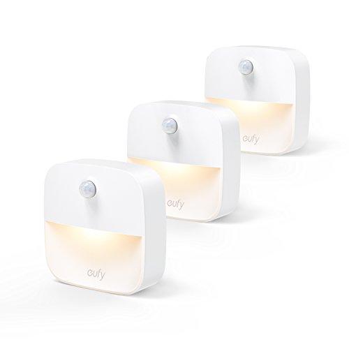 Eufy Lumi (LEDセンサーライト by Anker)【どこでも設置可能/モーションセンサー搭載 / 3個セット】