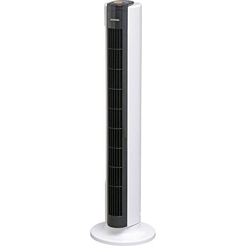 アイリスオーヤマ 扇風機 タワーファン タイマー付 リモコン付 リズム風付 風量3段階 TWF-C81