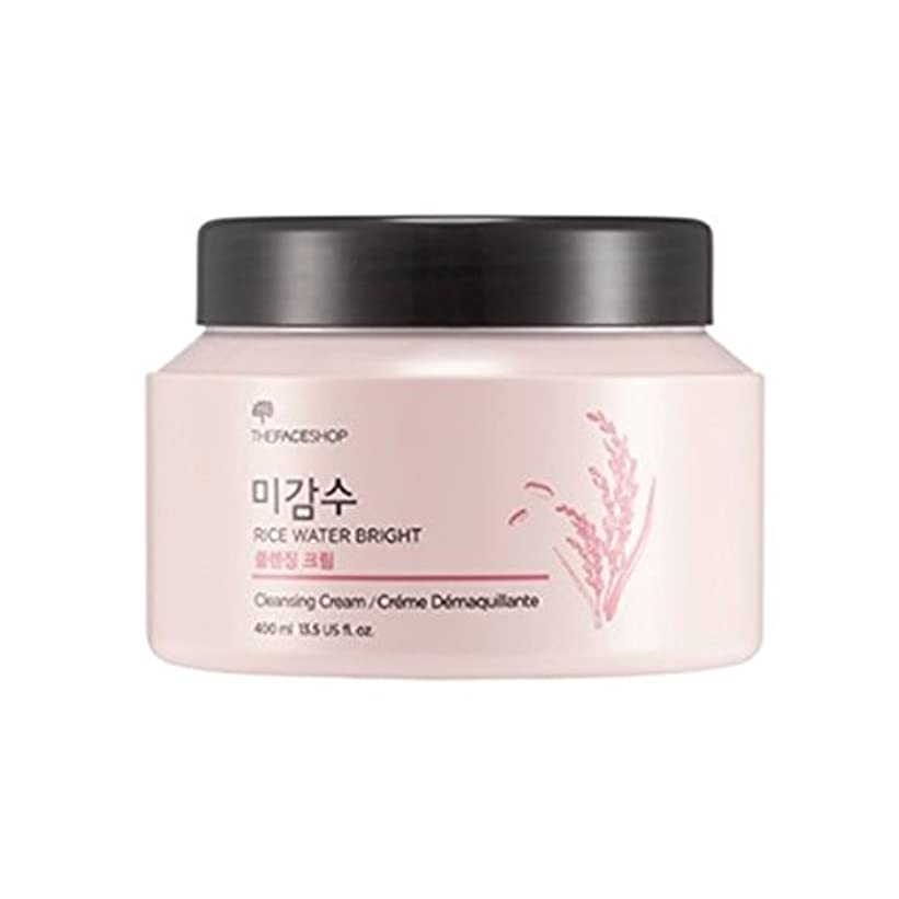 [THE FACE SHOP] 米泔水ブライトゥクルレンジンクリーム(大容量) / Rice Water Bright Cleansing Cream [海外直送品] [並行輸入品]