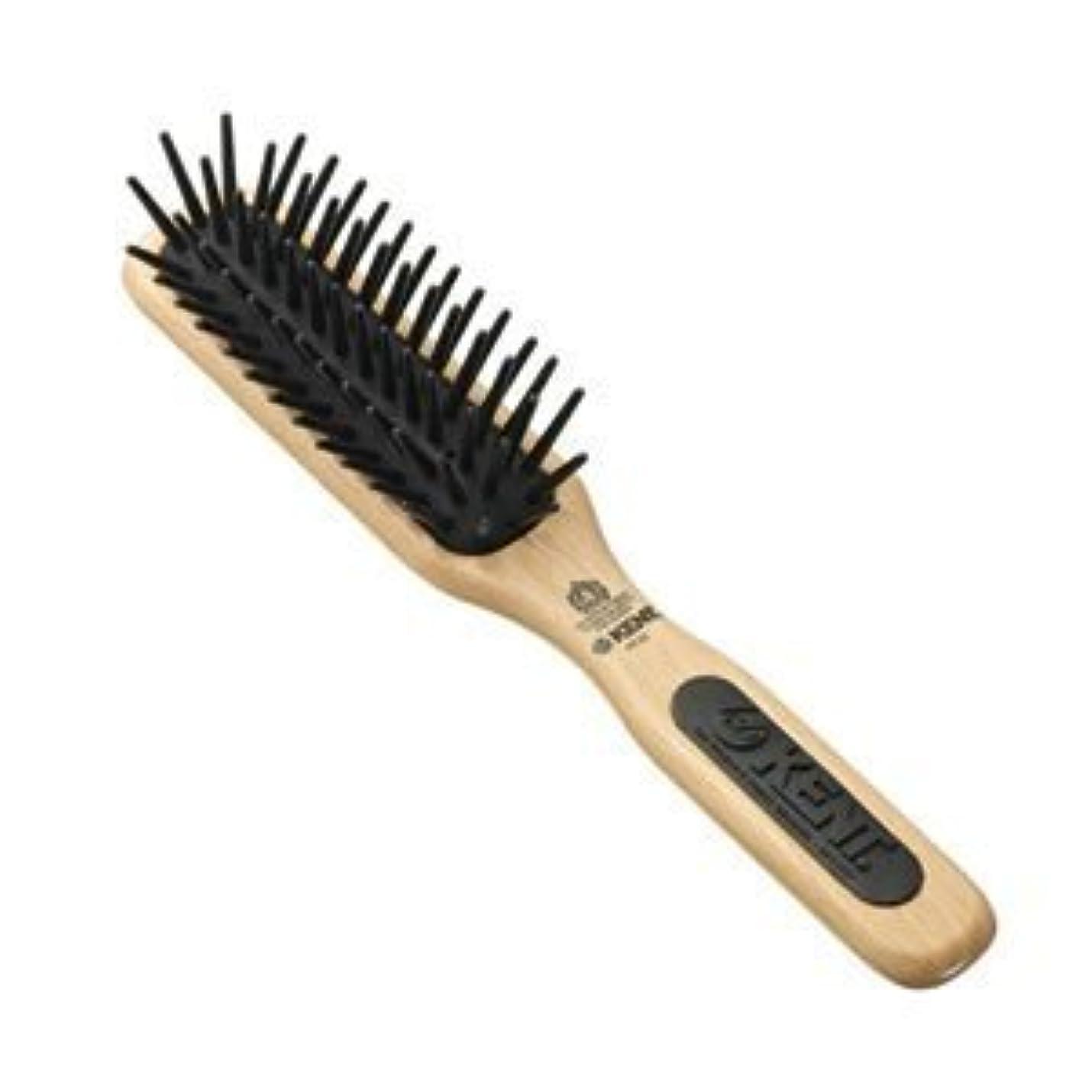 鬼ごっこサミュエル条件付きKent Brushes Pf20 Midi Detangling Fat Pin Narrow Brush [並行輸入品]