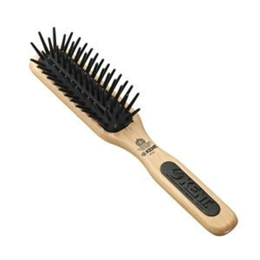 自発的ネコ綺麗なKent Brushes Pf20 Midi Detangling Fat Pin Narrow Brush [並行輸入品]