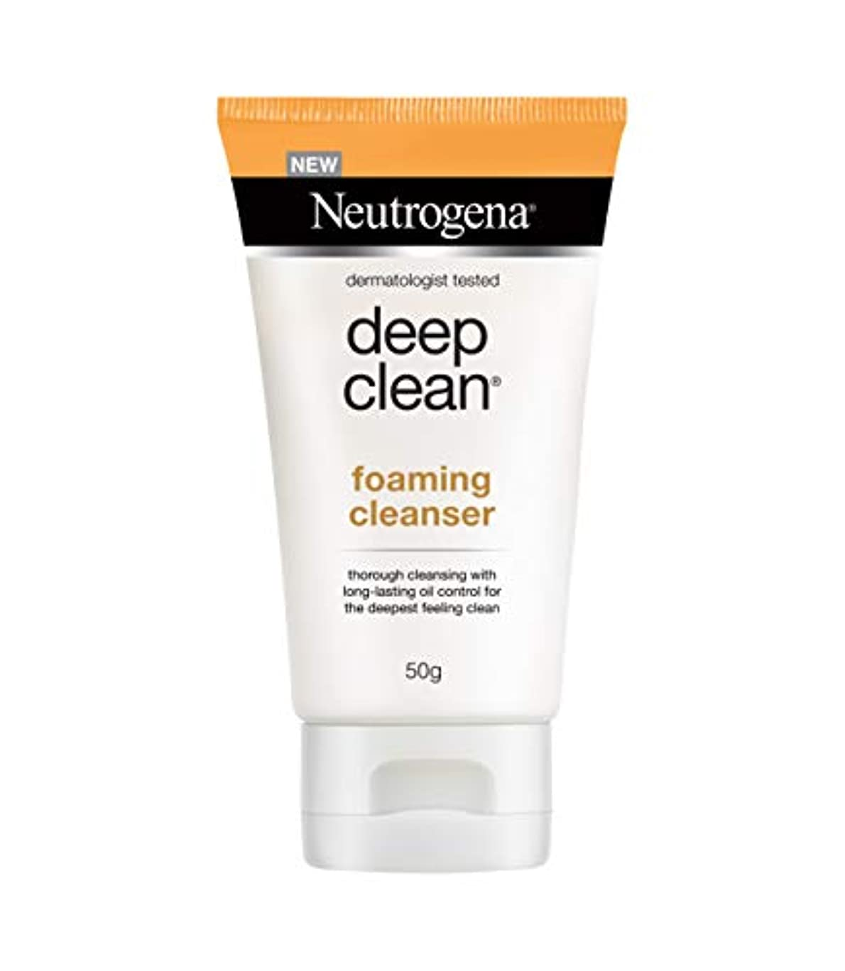 蒸し器医薬品回転Neutrogena Deep Clean Foaming Cleanser, 50g