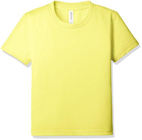 (グリマー)glimmer 4.4oz ドライTシャツ 00300-ACT 020 イエロー 140cm