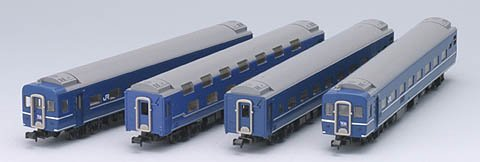 TOMIX Nゲージ 92278 14系15形客車 (寝台特急彗星) 4両セット