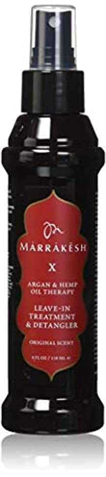 ひまわり代数的血まみれMARRAKESH by MARRAKESH X ORIGINAL LEAVE-IN TREATMENT & DETANGLER WITH HEMP & ARGAN OILS 4 OZ by IMAGINE