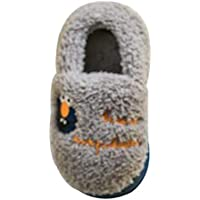 Fulision Autumn And Winter Boy Girl Slippers Keep warm Home Child shoes