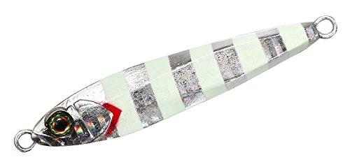 JACKALL(ジャッカル) メタルジグ ビッグバッカー ジグ 68mm 40g グローストライプ/ボーダーホロ