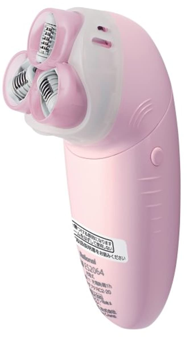 性能余剰はねかけるパナソニック ソイエ トリプルスピン泡脱毛 ピンク ES2064-P