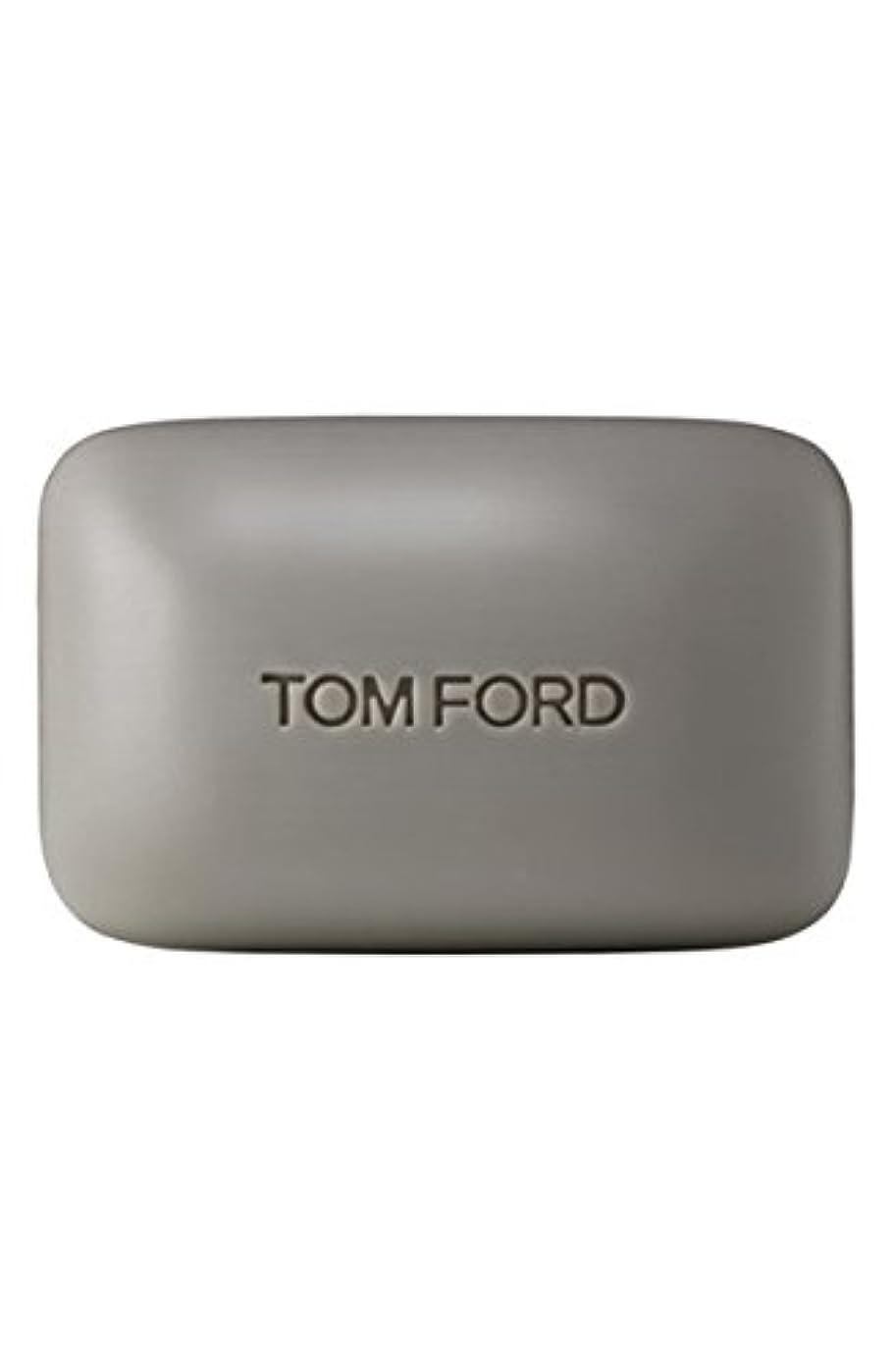 再現する無線穿孔するTom Ford Private Blend 'Oud Wood' (トムフォード プライベートブレンド オードウッド) 5.5 oz (165ml) Bar Soap (固形石鹸)