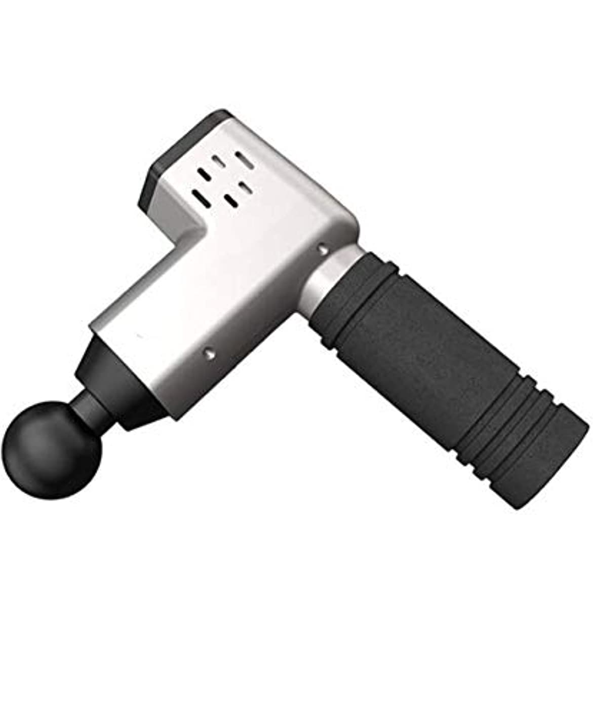 もつれ噛む電気的ボディリラクゼーションの痛みを軽減するマッサージ用ブースターセラピー筋マッサージガンの高周波数振動マッサージ