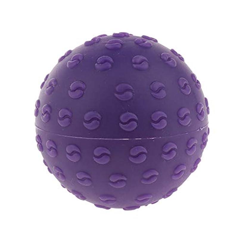 永久にほぼご意見D DOLITY マッサージボール 指圧ボール シリコーン トリガーポイント 足底筋膜炎 ヨガ 快適 全6色 - 紫, 説明のとおり