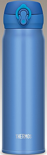 サーモス 水筒 真空断熱ケータイマグ 【ワンタッチオープンタイプ】 600ml メタリックブルー JNL-602 MTB