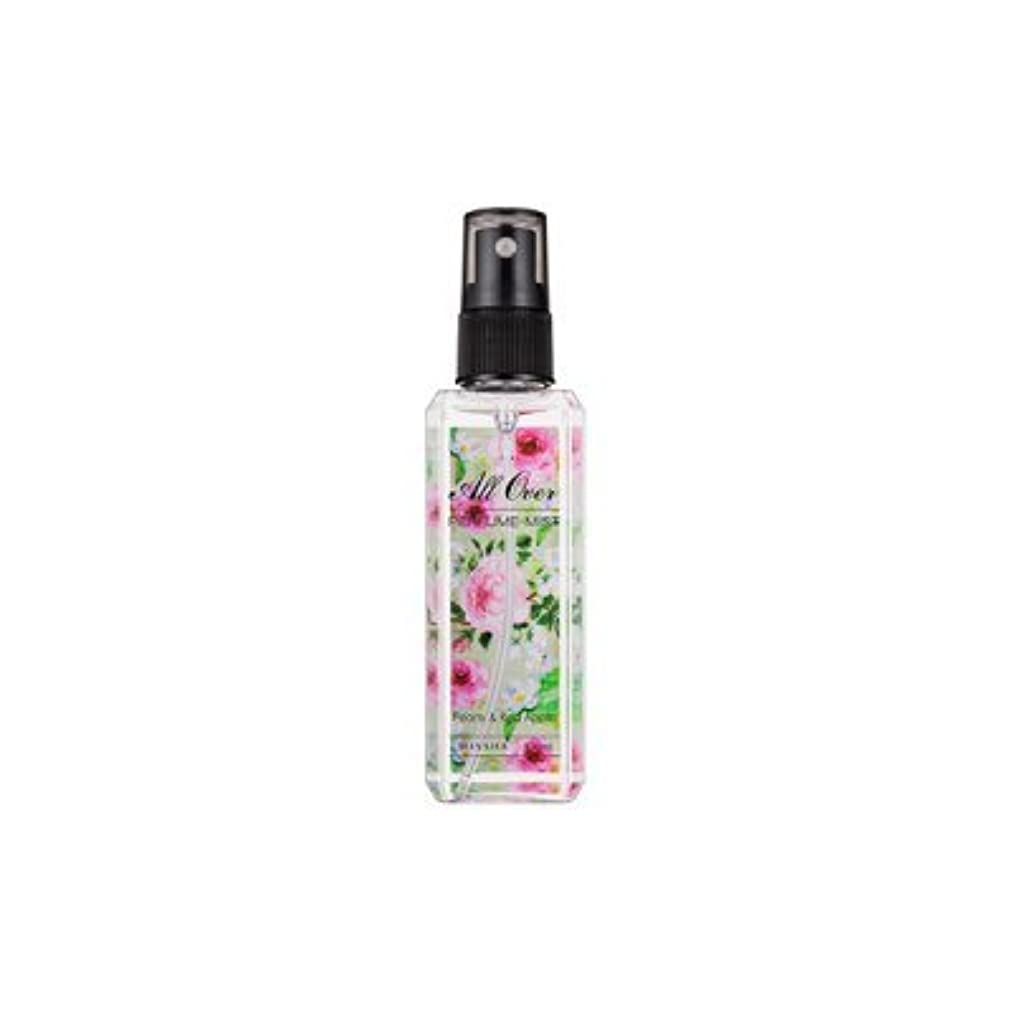 にぎやか保険誠実さMISSHA All Over Perfumed Mist (Peony & Red Apple)/ ミシャ オールオーバーパフュームミスト (Peony & Red Apple) [並行輸入品]
