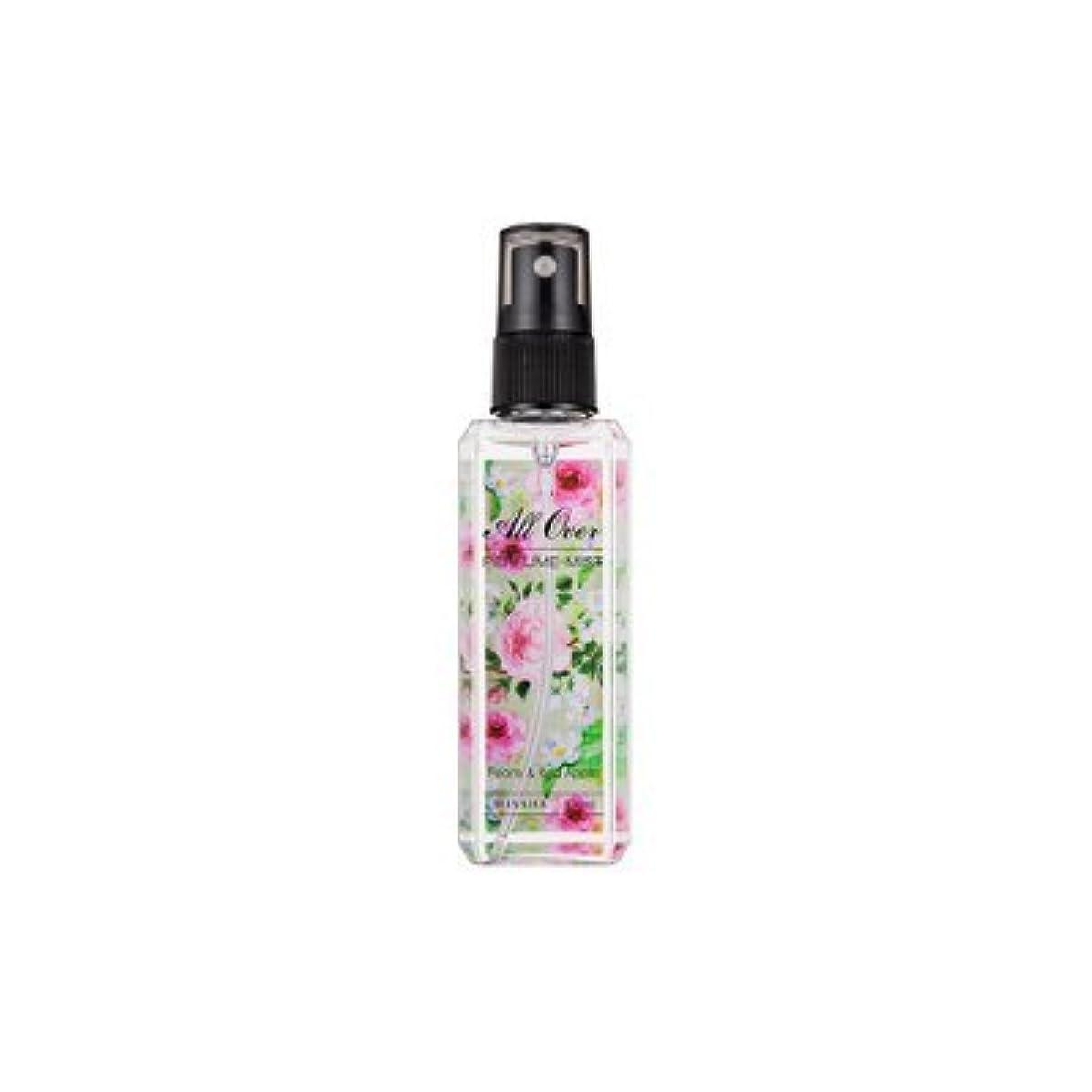 インセンティブリル注釈MISSHA All Over Perfumed Mist (Peony & Red Apple)/ ミシャ オールオーバーパフュームミスト (Peony & Red Apple) [並行輸入品]