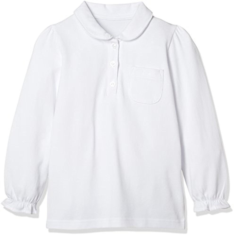 [ベルメゾン] ガールズ長袖ポロシャツ(ゆったり) D84317