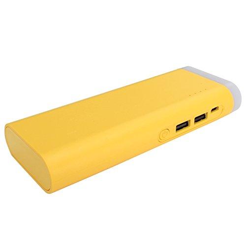 大容量 モバイルバッテリー LEDライト付き 6000mAh...