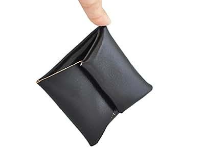 スマートコインケース 本革仕様 ブラック (ブラック)