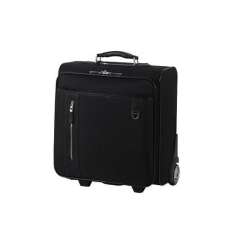 (グラディス・トラベル)GladysTravel ソフトビジネスキャリーバッグ EBC-04 ポリエステル製 ブラック