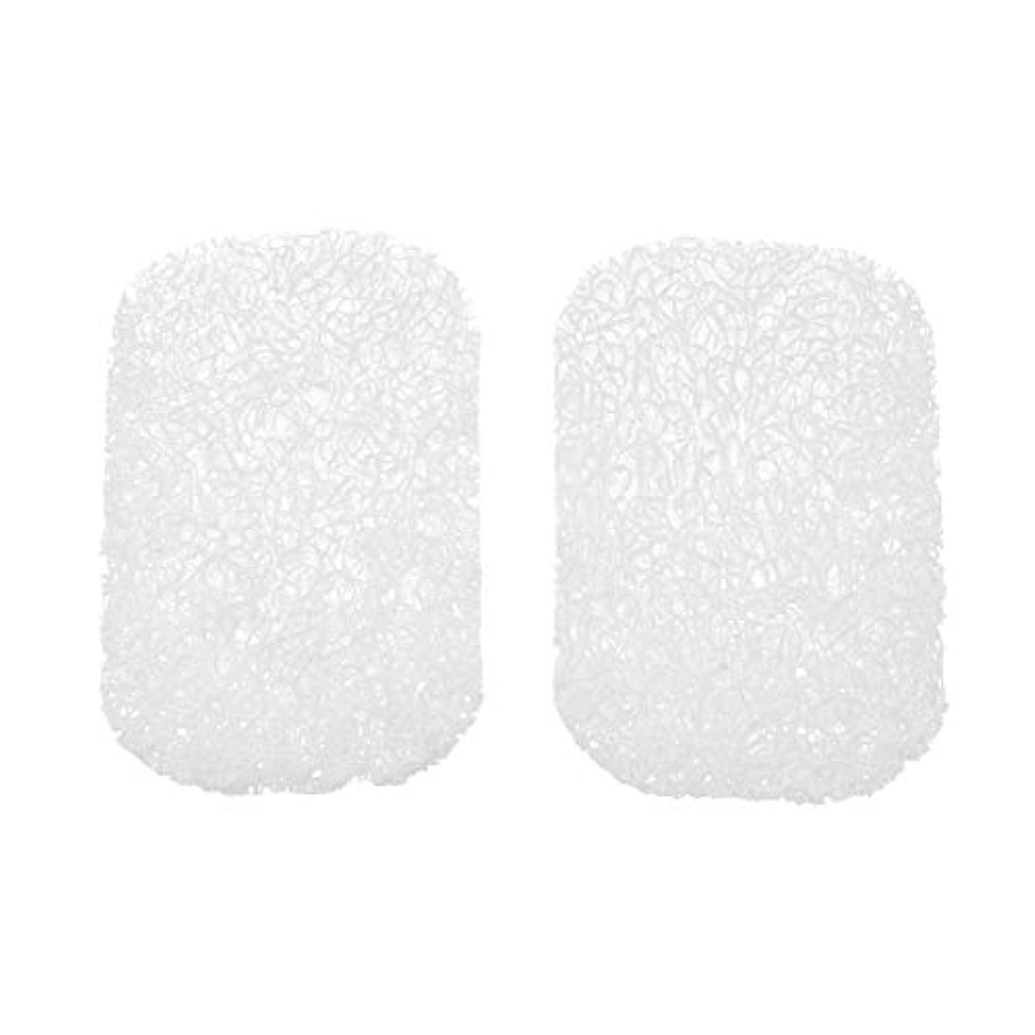 エキゾチック染色ソースHealifty 石鹸トレイ滑り止め日常用ソープホルダー10個入(白)