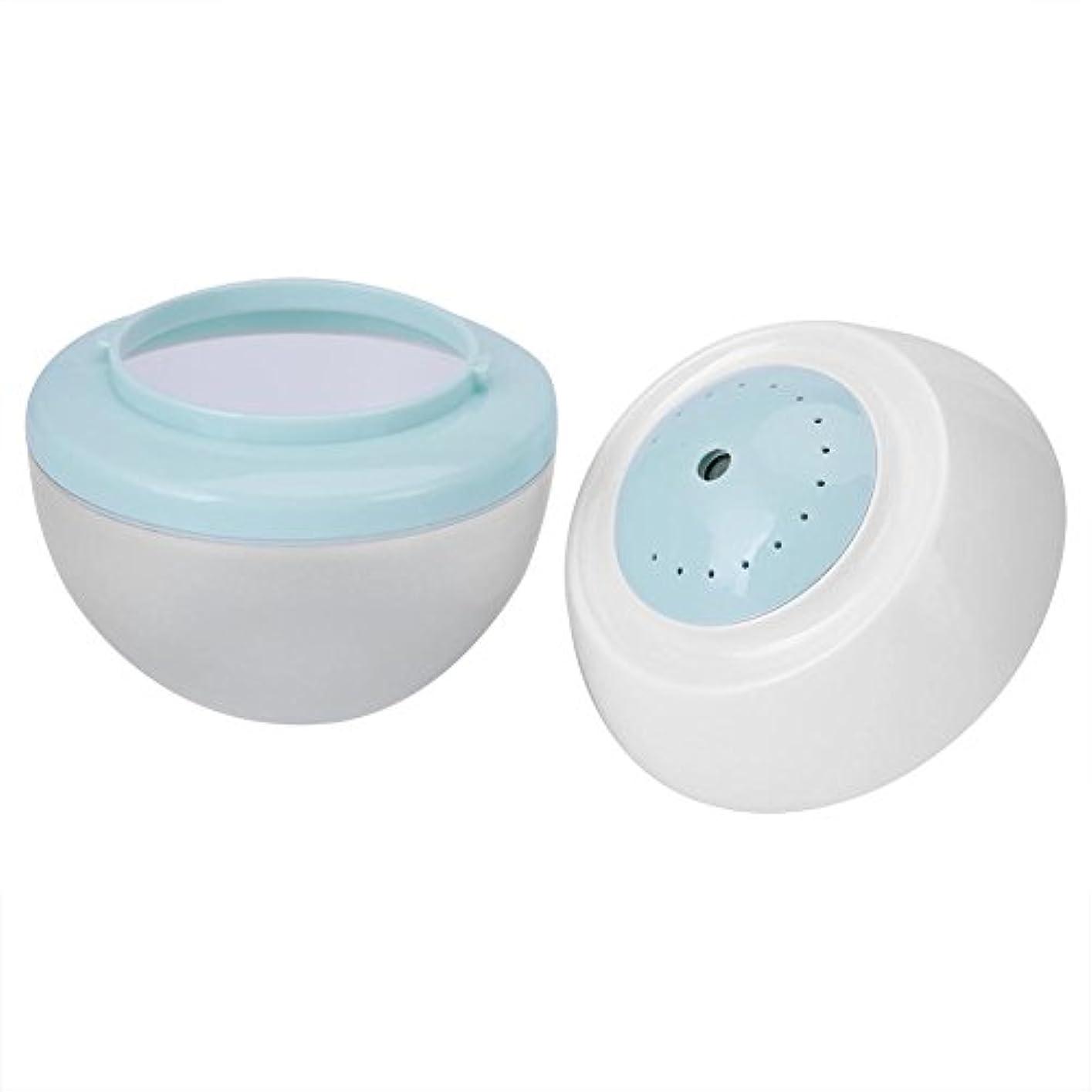 条件付き似ている減らすクールミスト加湿器、500ML 7色LED超音波加湿器冷気オイルディフューザー清浄器ホームオフィスルーム用ホームホールハウスベビールーム(ピンク)