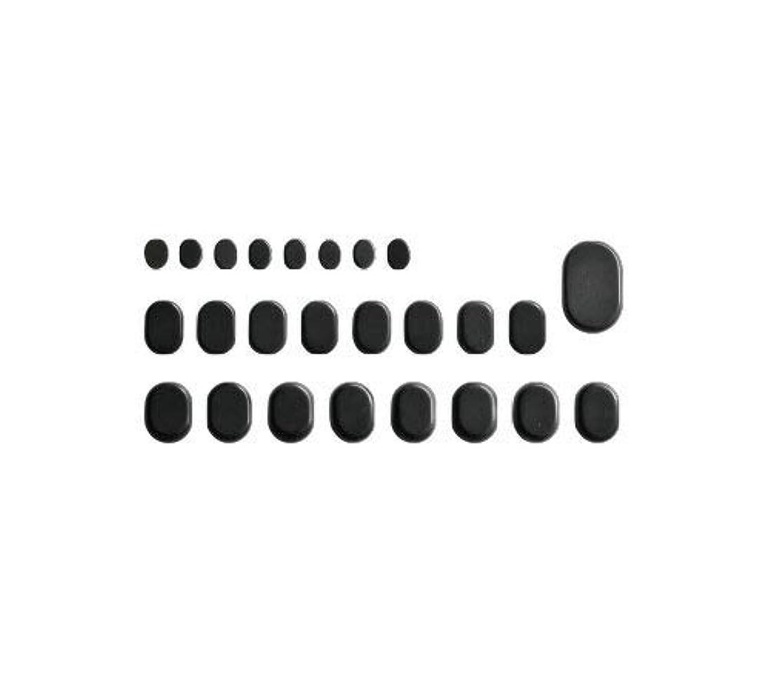 花輪天才アートホットストーン バサルト 25 成形 玄武岩 [ ホット ストーン ストーンヒーター スパ ロミロミ ハワイ ハワイアン マッサージ ]