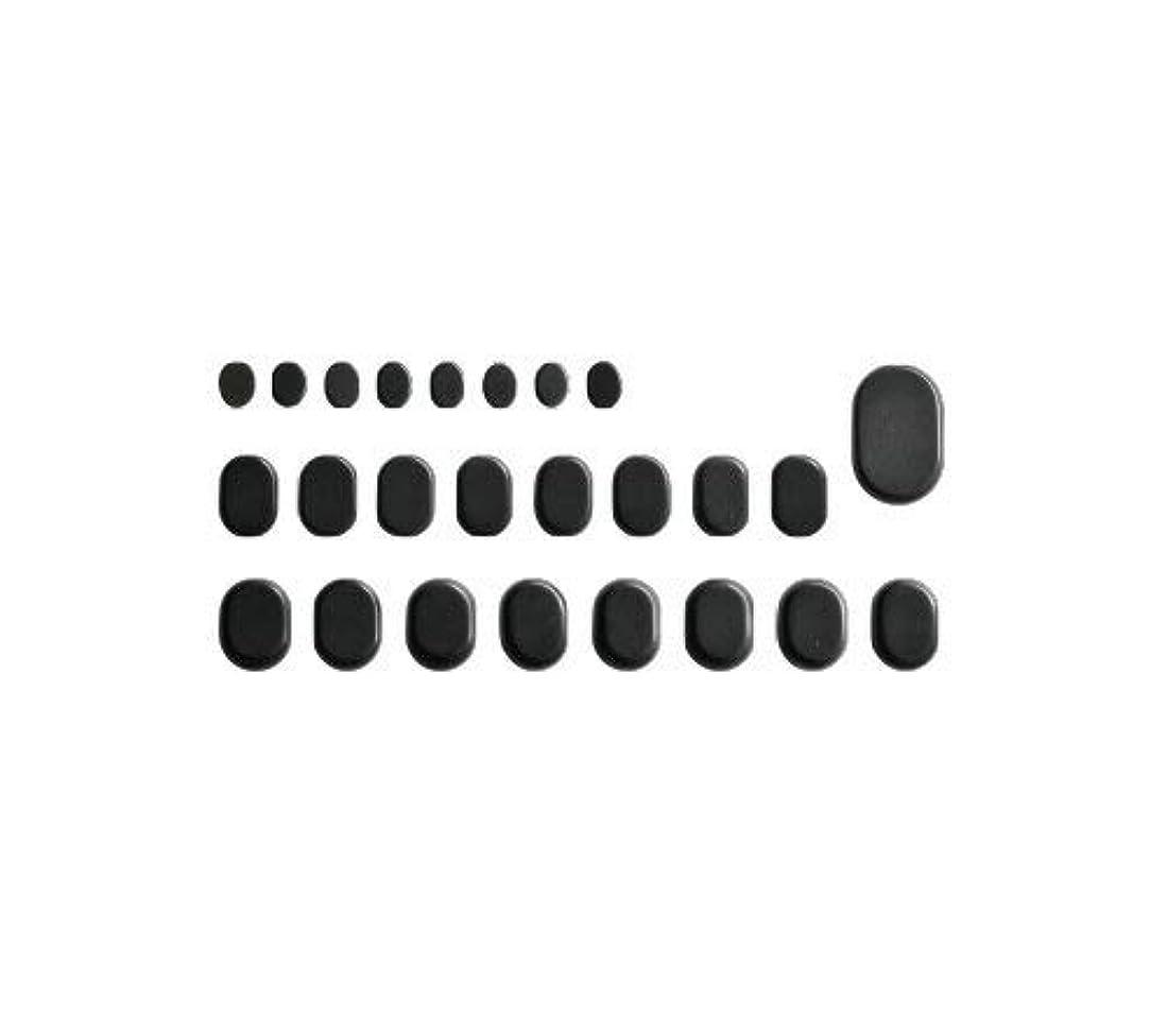 制限サミット広告ホットストーン バサルト 25 成形 玄武岩 [ ホット ストーン ストーンヒーター スパ ロミロミ ハワイ ハワイアン マッサージ ]
