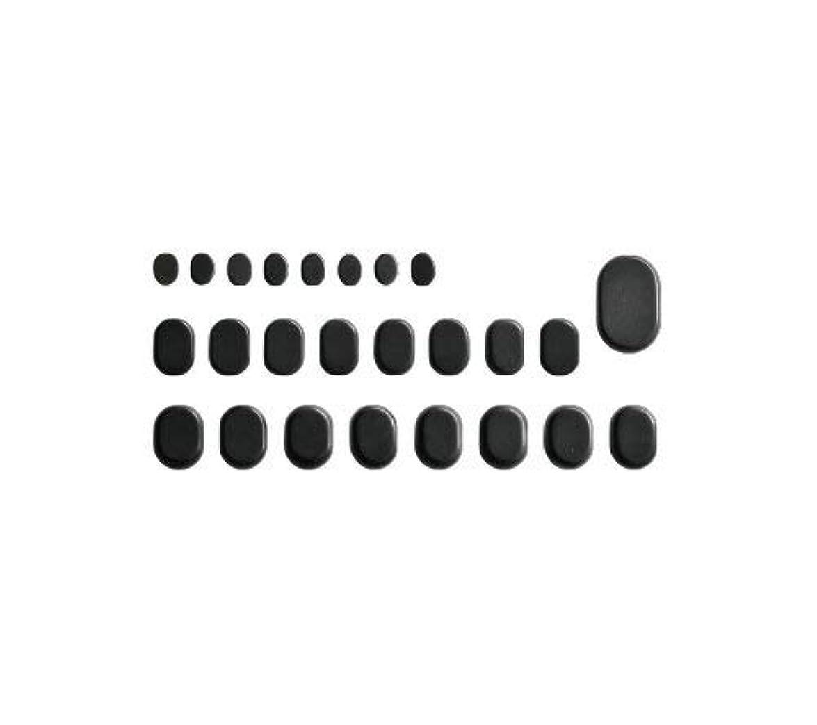 修正するよろめくハウスホットストーン バサルト 25 成形 玄武岩 [ ホット ストーン ストーンヒーター スパ ロミロミ ハワイ ハワイアン マッサージ ]