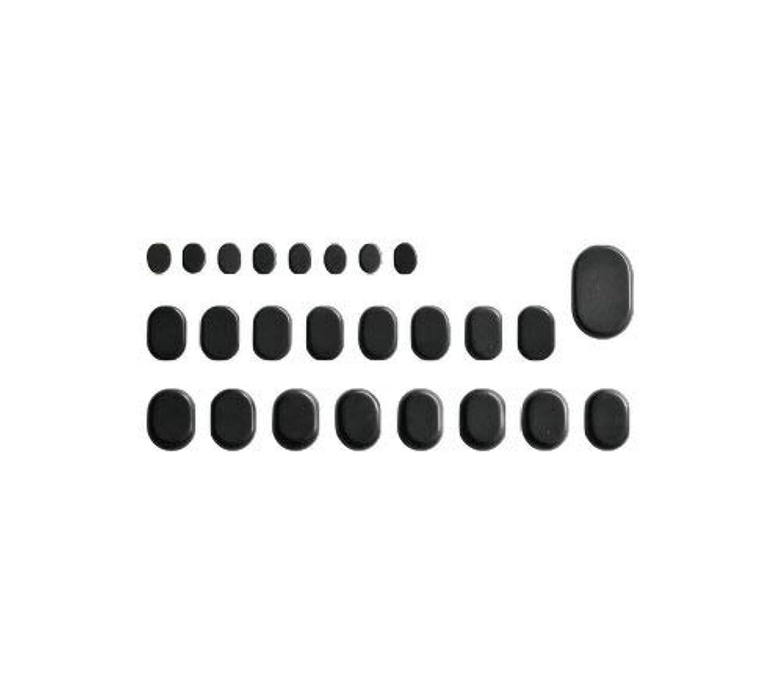 マーベル養う意欲ホットストーン バサルト 25 成形 玄武岩 [ ホット ストーン ストーンヒーター スパ ロミロミ ハワイ ハワイアン マッサージ ]