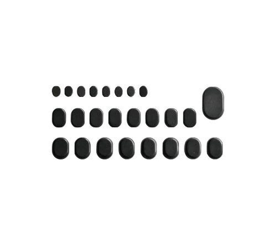 火炎試み疎外するホットストーン バサルト 25 成形 玄武岩 [ ホット ストーン ストーンヒーター スパ ロミロミ ハワイ ハワイアン マッサージ ]