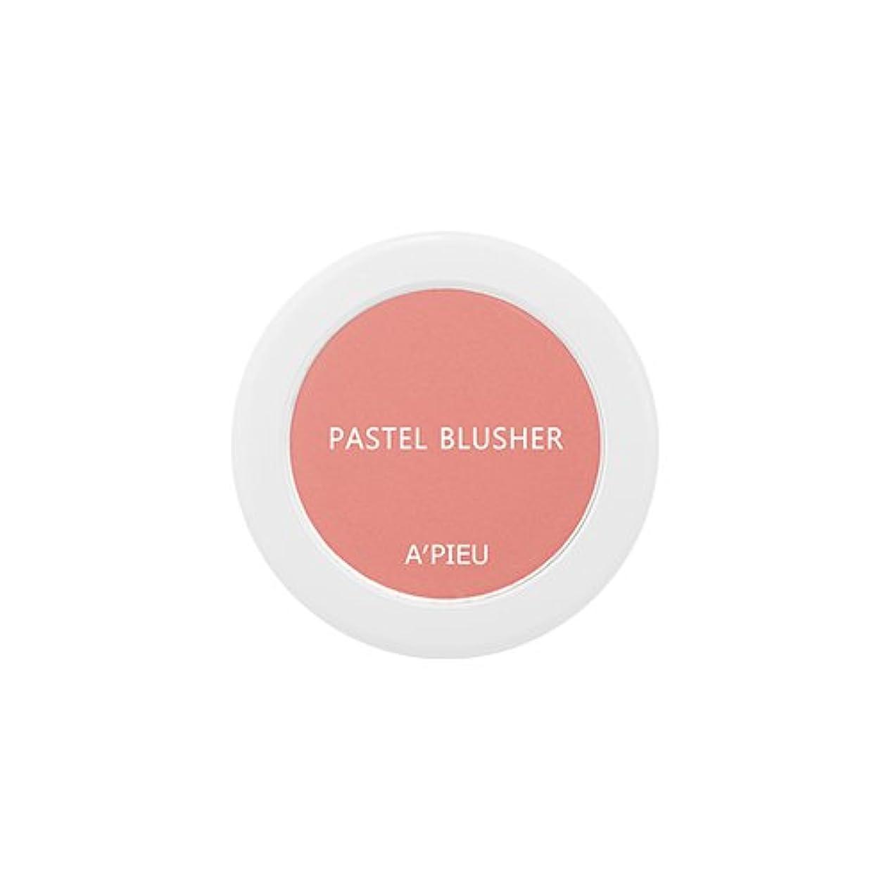 エージェントスピーチ居住者アピュ[APIEU] Pastel Blusher パステル ブラッシャー (CR03) [並行輸入品]