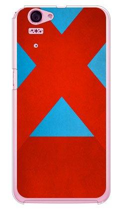 [Disney Mobile on docomo SH-05F/docomo専用] Coverfull スマートフォンケース Cf LTD ダービーコレクション 競馬 騎手 勝負服 【38】 水色・赤十字襷・赤袖 (クリア) DSH05F-PCCL-152-MJQ3