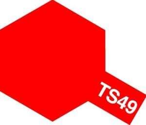 タミヤ スプレー No.49 TS-49 ブライトレッド 85049
