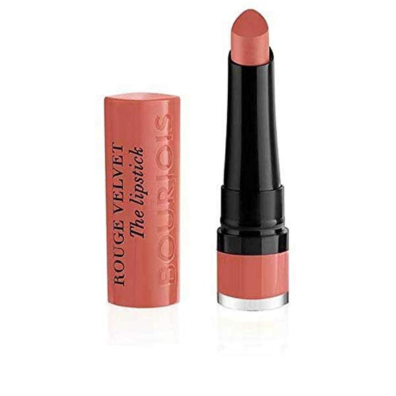 プランテーション効率的に存在する[Bourjois ] ブルジョワルージュのベルベット口紅 - 桃のTartin 15 - Bourjois Rouge Velvet The Lipstick ? Peach Tartin 15 [並行輸入品]