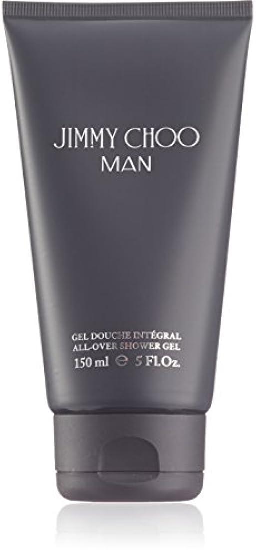 バック農学かわいらしいジミーチュウ Man All Over Shower Gel 150ml