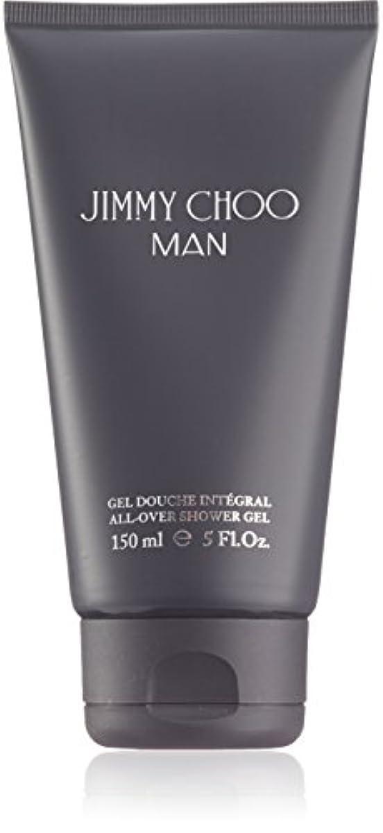 圧縮に渡って泣き叫ぶジミーチュウ Man All Over Shower Gel 150ml