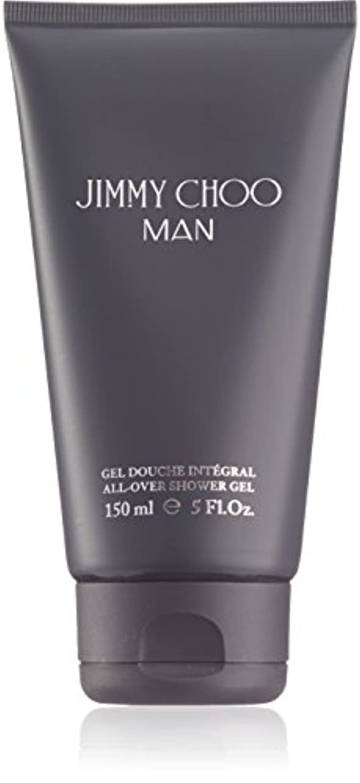 デモンストレーションラッチ熟すジミーチュウ Man All Over Shower Gel 150ml