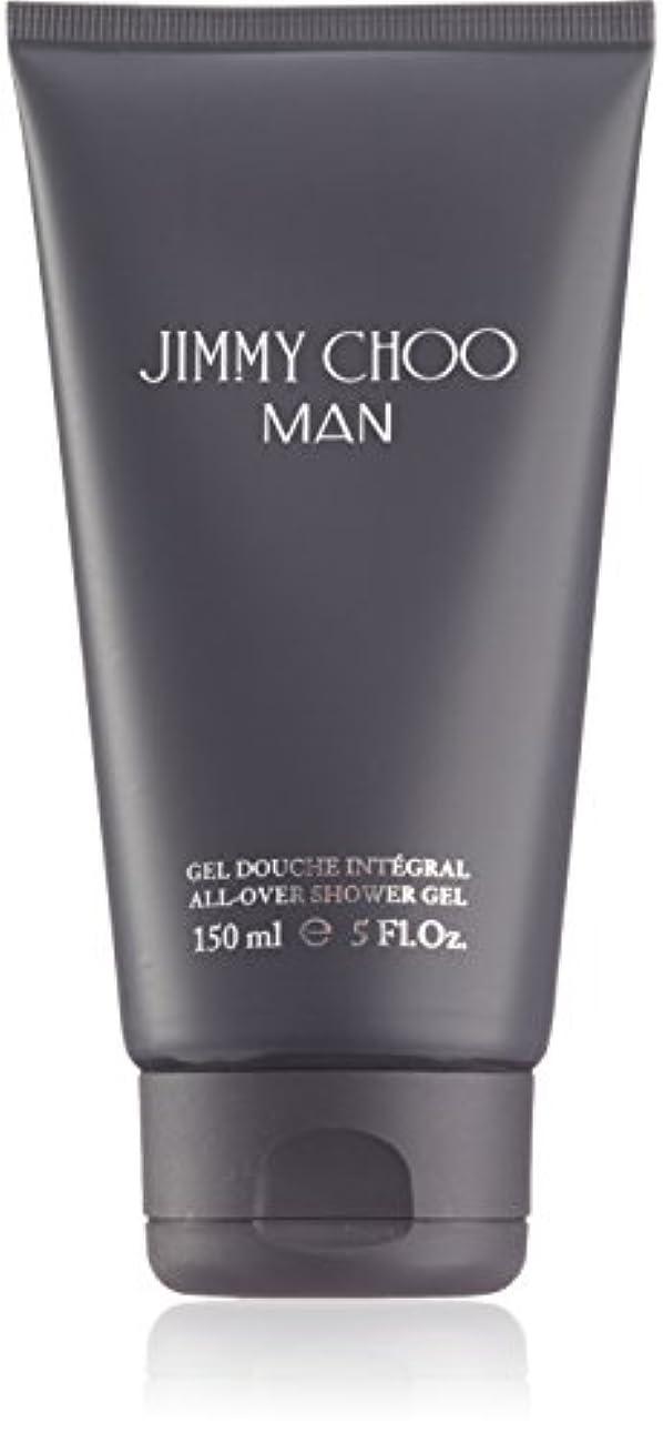 ほとんどないバックアップ注文ジミーチュウ Man All Over Shower Gel 150ml
