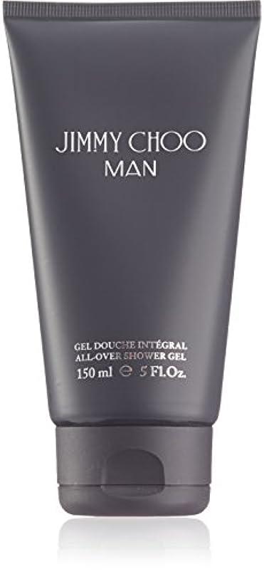 ホップ誘惑する信じられないジミーチュウ Man All Over Shower Gel 150ml
