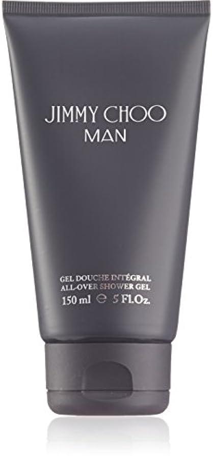 敬の念ダーベビルのテス体操ジミーチュウ Man All Over Shower Gel 150ml