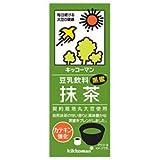 キッコーマン 豆乳飲料 抹茶 200ml紙パック×18本入×(2ケース)