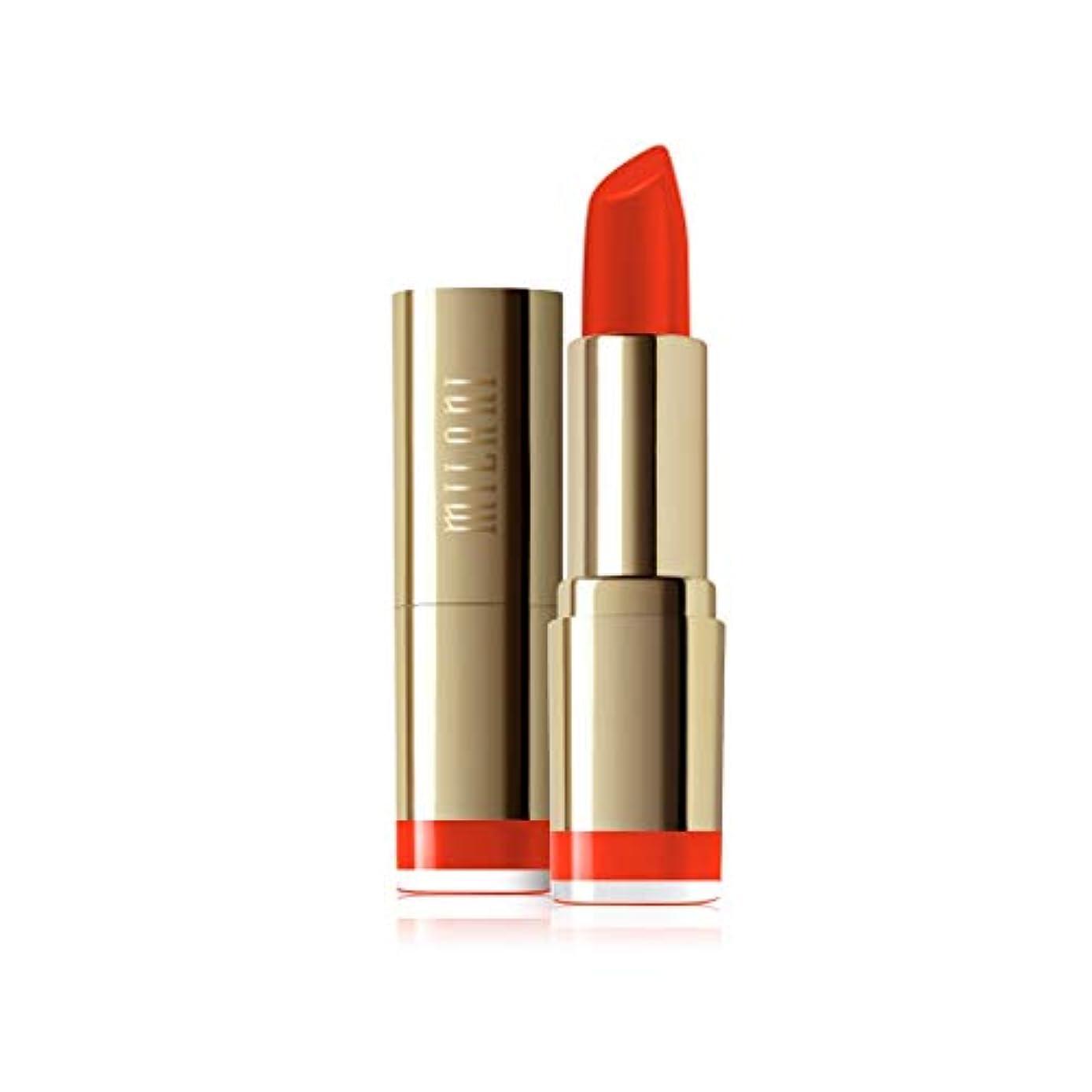 アセンブリ敵対的石油Milani Color Statement Moisture Lipstick, Matte Passion