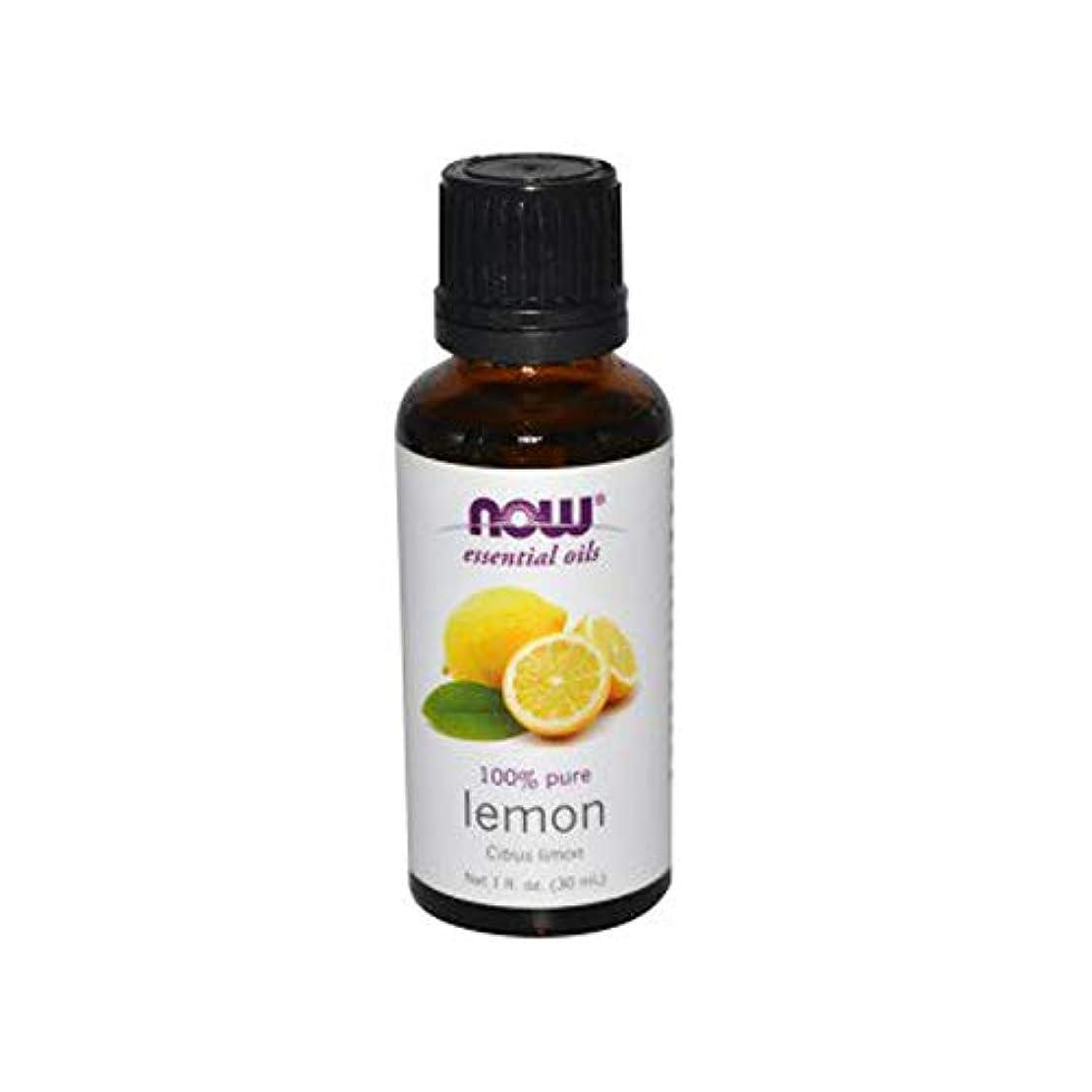 シュリンク八水っぽいNOW Foods (ナウフーズ) エッセンシャルアロマオイル レモン 30ml 【正規輸入品】