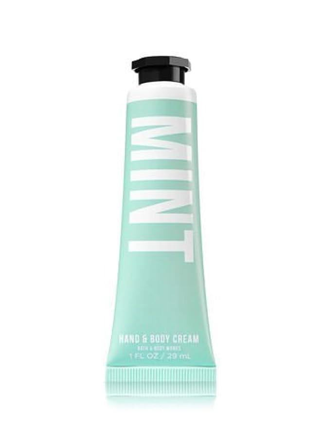 告発収入重要性【Bath&Body Works/バス&ボディワークス】 シアバター ハンド&ボディクリーム ミント Shea Butter Hand & Body Cream Mint 1 fl oz / 29 mL [並行輸入品]
