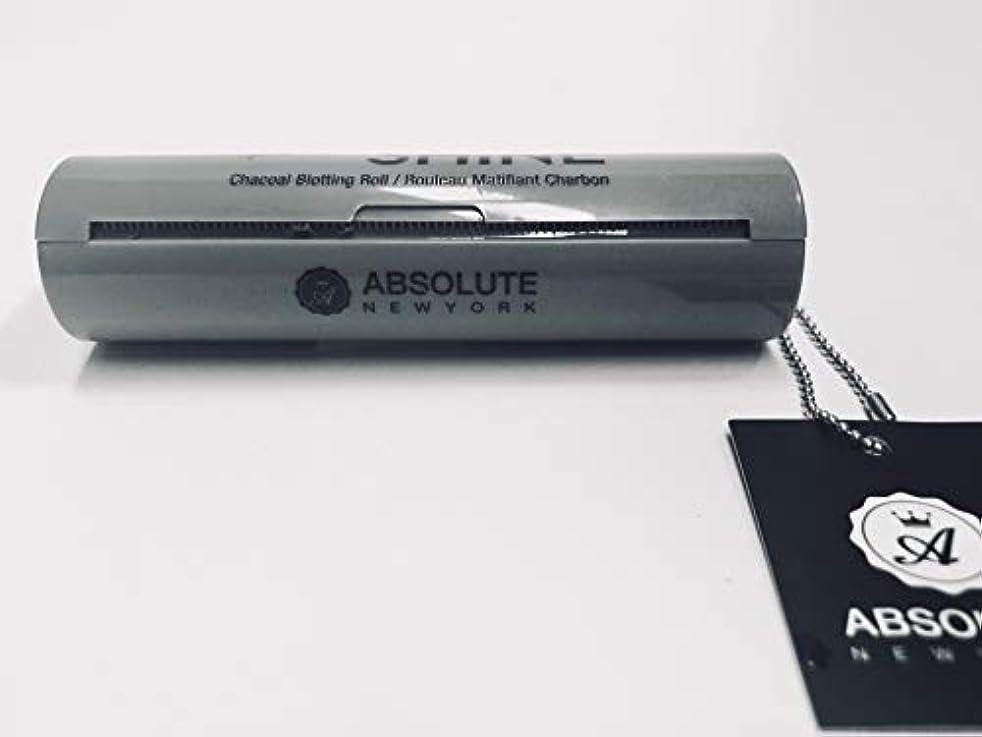 インシュレータのご注意ABSOLUTE Bye Bye Shine Blotting Roll - Charcoal (並行輸入品)