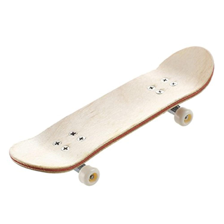 Gaoominy HT00640木製指フィンガースケートボード+ドライバーランダムパターン