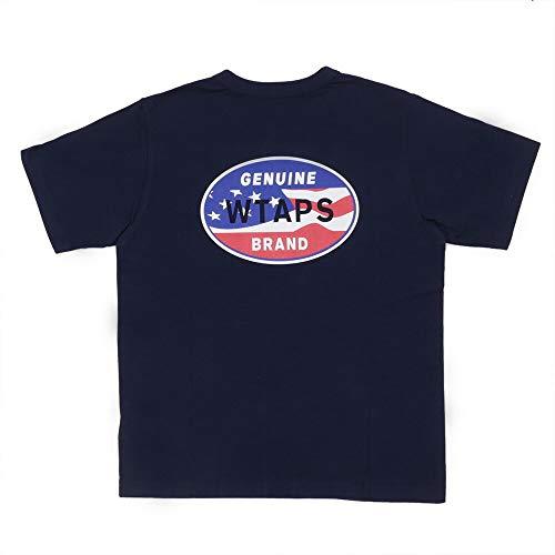 [Sサイズ] 新品 ロンハーマン Ron Herman x ダブルタップス WTAPS DESIGN SS 08 TEE Tシャツ NAVY 200007122037 (W)TAPS