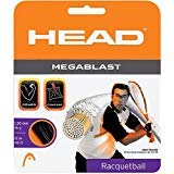 Head Megablastラケットボール文字列セット ホワイト
