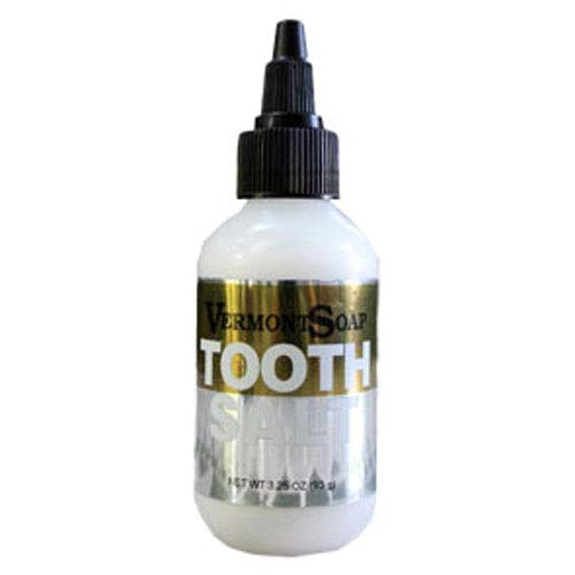 訴える忠実なアナログVermontSoap バーモントソープ 塩歯みがき ORGANIC CARE TOOTH SALT 40g