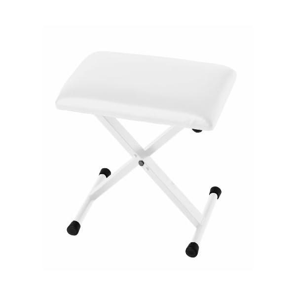 KORG ピアノ椅子 JS-SB100WH ホワイトの商品画像