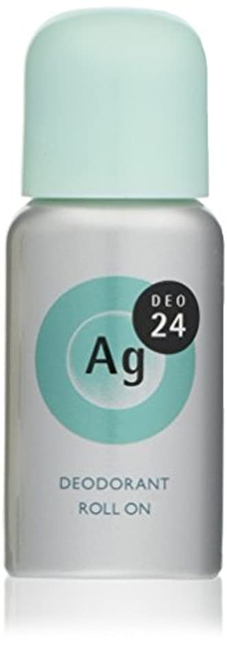 愛されし者勝利した膨らませるエージーデオ24 デオドラントロールオンEX ベビーパウダーの香り 40mL (医薬部外品)
